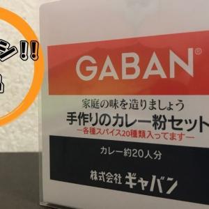 【筆者イチオシ】GABAN(ギャバン)の「手作りカレー粉セット」を全力で推したい!!