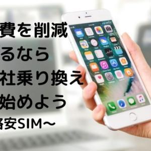 固定費の削減ならスマホを格安SIMへの乗り換えを最初に行ったほうが良い理由を解説します