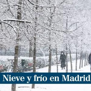 「大西洋広域寒波Filomenaで大雪のマドリッド」とスペイン・ヨーロッパライブニュース