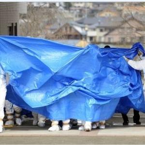 「日本政府の福島第一の処理水を海に放出決定」とライブニュース