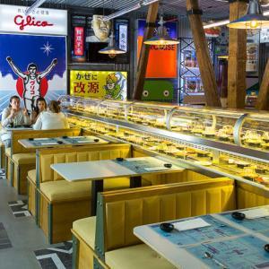 マドリッドにある大阪回転寿司ビデオとライブニュース