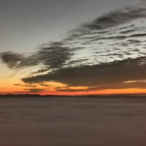 三次の雲海 高谷山展望台