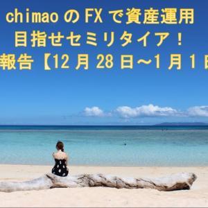 兼業トレーダーchimaoのFXで資産運用!目指せセミリタイア収益報告【12月28日~1月1日】