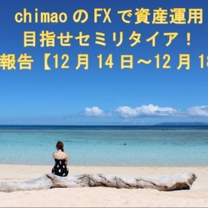 兼業トレーダーchimaoのFXで資産運用!目指せセミリタイア収益報告【12月14日~12月18日】