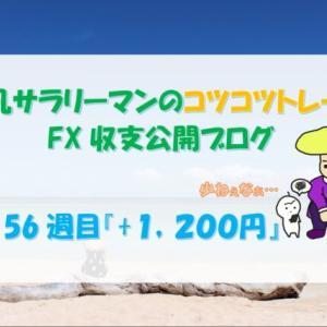 平凡サラリーマンのコツコツFX収支公開【57週目 +1,200円】