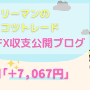 平凡サラリーマンのコツコツFX収支公開【71週目+7,067円】