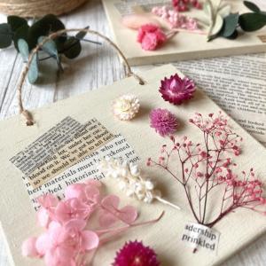 春色を散りばめた♡大人可愛い壁飾り