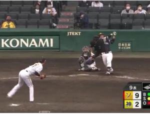 阪神戦10-2 ゲームの流れがゴロッと変わる