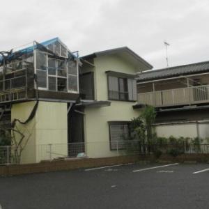 悪夢の記録 台風15号による温室の破損