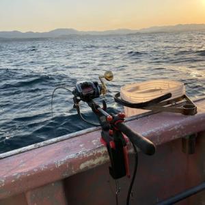 2021/2/24 落とし込みしながらのアジ釣りと天秤真鯛釣り