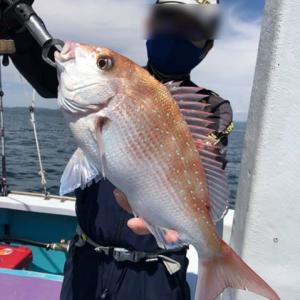 2021/4/27 コマセ真鯛釣り