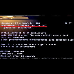 4.Raspberry Pi4にUSBブートを設定(必要な人だけ)