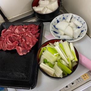 大根と牛肉のスープを作ったよ(韓国料理)
