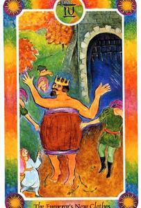 インナーチャイルドカード【IV 〜裸の王様】