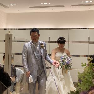 8月15日日曜日のすけ先生結婚式♡2部披露宴