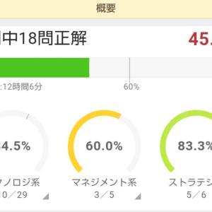 応用情報 1月2日 45%