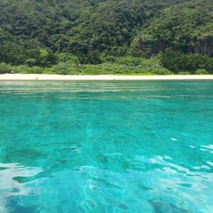 西表島・イダの浜・カヤックから撮影