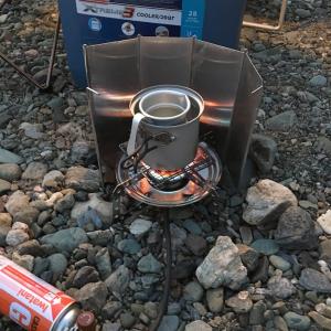 ソロキャンプ・冬には熱燗で