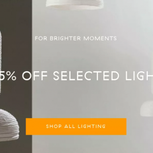 【NOW ON SALE】ライト類一部20-25% OFF
