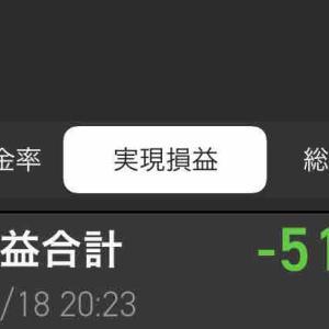 今日の確定損益は-512,1530円 #廣済堂(7868) 落ちるナイフは掴むな! っていうか、保有がナイフに変わりすぎ!