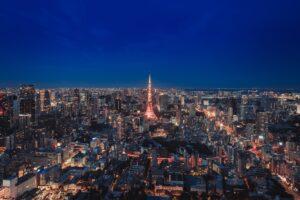 私の故郷、東京へ戻りました。