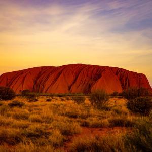 【ウルル】地球のヘソ・エアーズロックを巡る【オーストラリア】