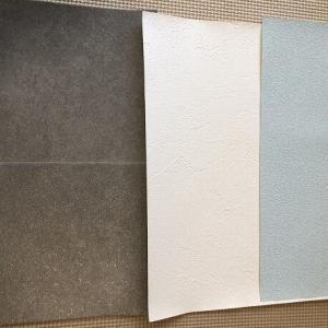 トイレの壁紙と床材の候補について