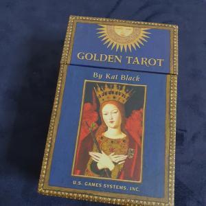 GOLDEN TAROT スピリチュアル系にますます嵌る。