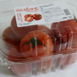 初めて食べた甘いステビアトマト