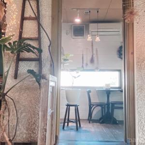 お花屋さんの中にあるカフェで初ランチ&嬉しいサプライズ【プティ カフェ トロン】
