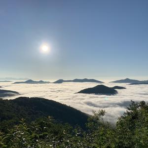 雲海テラスに行ってきた。