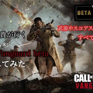 Call of Duty®: Vanguard betaプレイしてみた