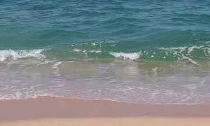 波(軽快なジャズ)[波、穏やかな音楽、消える悩み]