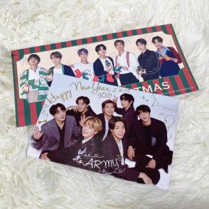 【BTSグリーティングカード2021】がファンクラブから届いた♡