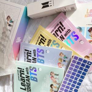"BTSの韓国語教材""Lean! KOREAN with BTS""の内容を公開☆"