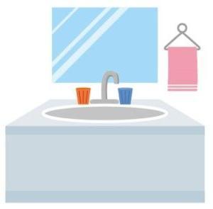 家の設備㉔ 造作洗面台のイメージ