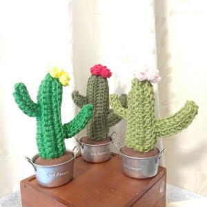 かぎ針編みで編みサボ☆3きょうだい!