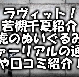 ラヴィット!若槻千夏の虎のぬいぐるみファーリアルの通販や口コミ紹介!6月15日