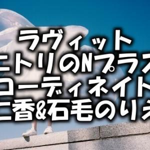 【ラヴィット】ニトリのNプラスのコーデは何?仁香&石毛のりえ(7月27日)