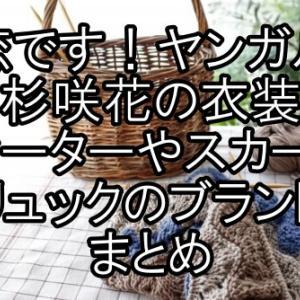 〖恋です!ヤンガル〗杉咲花の衣装セーターやスカート・リュックのブランドまとめ