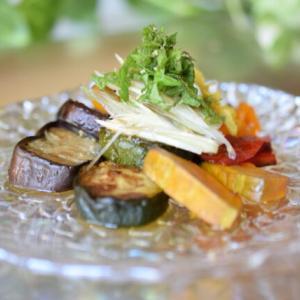 夏野菜をたっぷり使った出汁浸し