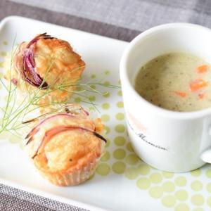 ほっと一息したいときに。きのこペーストを使った秋の簡単スープ!