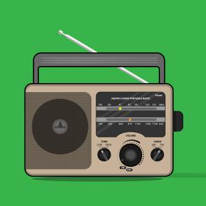 乾電池で長時間使用が可能なポータブルラジオを探した