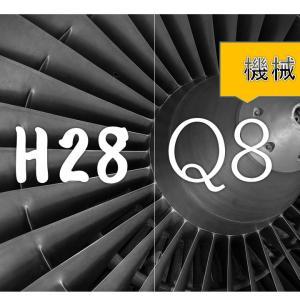 【電験ブログ】過去問挑戦! H28 機械 問8 問題文にヒントがある!