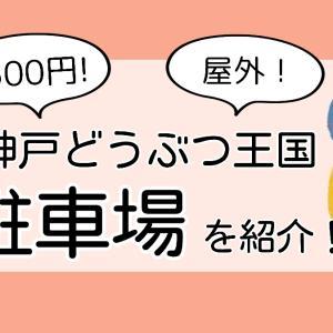 500円ポッキリ!神戸どうぶつ王国の駐車場について写真付きで紹介!
