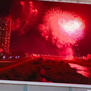 #Fireworks #二子玉 #花火大会 #HANABI #今日の出来事 #花火 #綺麗だった