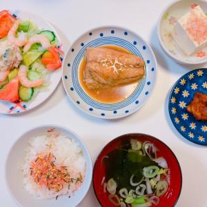 #さばの味噌煮 #今日の晩ご飯 #おうちごはん #今天的晚饭 #鱼 #晩ご飯