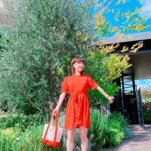 #コーディネート #天気良かった #时装 #ワンピース #ENVYLOOK #韓国ファッション