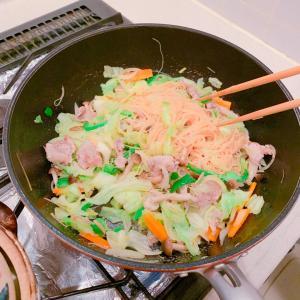 #湯豆腐 ❤️ #焼きビーフン #晩ご飯 #今天的晚饭 #おうちごはん #夕飯 #家ごはん