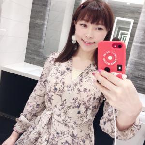 #昨日のコーデ #韓国ファッション #ENVYLOOK #ファッション #花柄ワンピ #衣服
